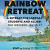 Rainbow Retreat: RSVP by November 20