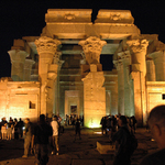 Night View of Temple of Kom Ombo