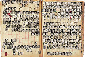 Mapping Sitting (book of ID photos)