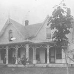 Dacie Moses House in the 1870s