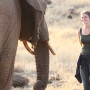 Lydia Henderson '16 had a memorable two weeks working with elephants in Tanzania.