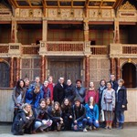 At the Globe Theatre - Winter 2014