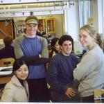 Physics students, Fall 2003 in physics 128 lab