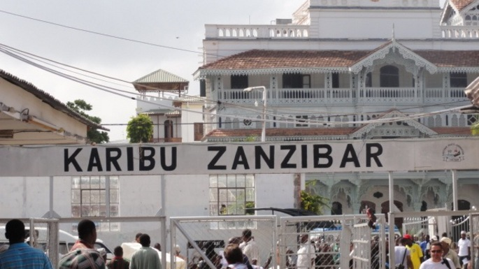 Arriving in Zanzibar for midterm break