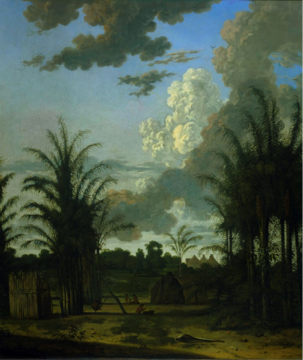 <strong>Figure 5.</strong> Dirk Valkenburg, <em>Plantation in Surinam</em>, c. 1707