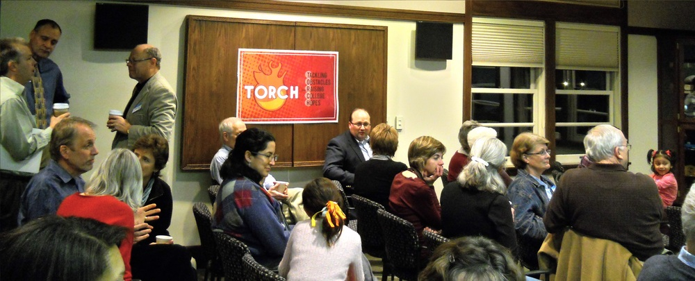 Audience at TORCH event