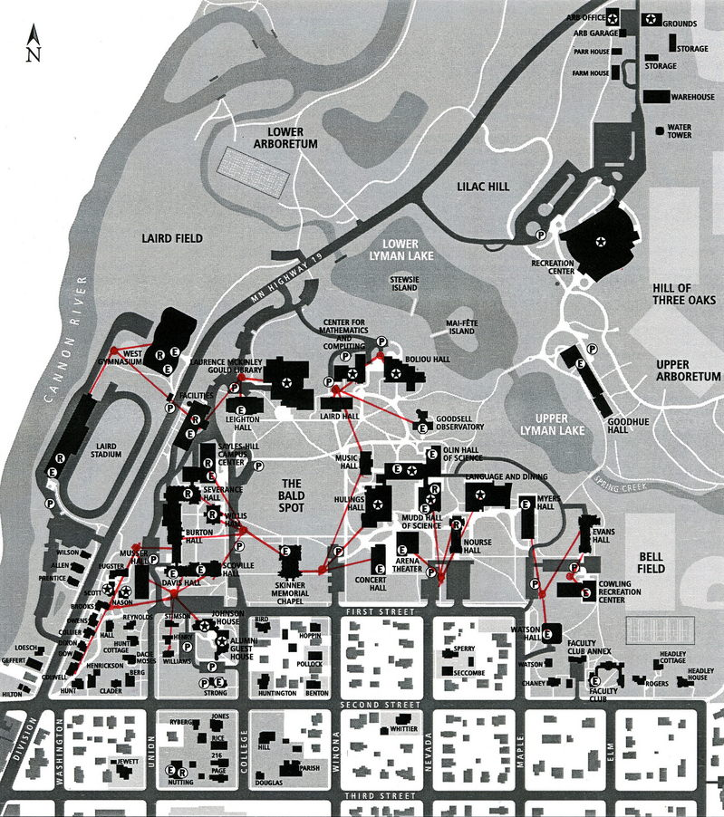 Service Vehicle Parking Map
