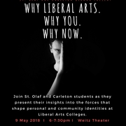 Why Liberal Arts. Why You. Why Now.