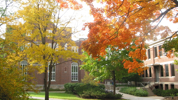 Severance and Sayles in Fall
