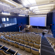 Interior of the Weitz Center for Creativity Cinema