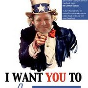Stevie P. Wants You to Like Carleton Update contest poster.
