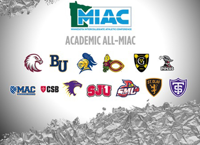 Academic All-MIAC awards
