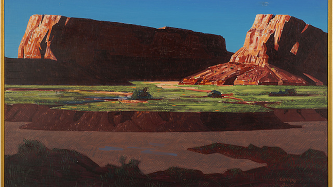 Twin Buttes, c. 1948