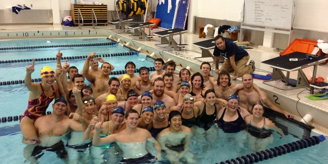 Men 39 S Swimming And Diving Hosts Intrasquad Alumni Meet Varsity Athletics Carleton College