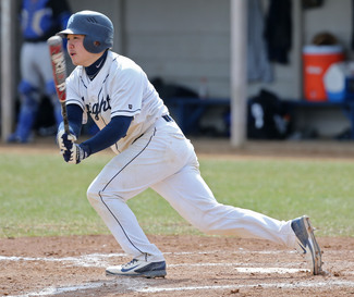 Hayden Tsutsui '16 was selected as the d3baseball.com national rookie of the year in 2013.