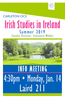 Ireland Info Meeting W19