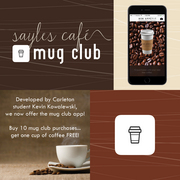 Download the Sayles Café Mug Club app today!