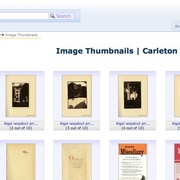 All recorded information on archival records at Carleton now online for the public to search, view and request.