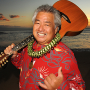Hawaiian Slack Key Guitarist George Kahumoku Jr.