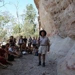 Indigenous Australian Rock Painting