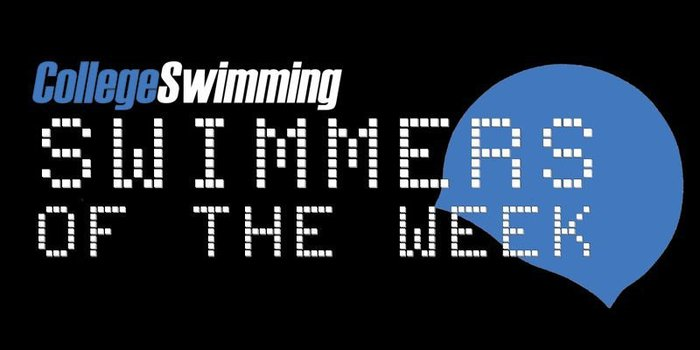 CollegeSwimming Swimmer-of-the-Week