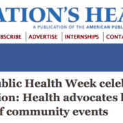 Carleton College featured in the July issue of The Nation's Health