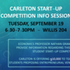 Start-up Competition poster