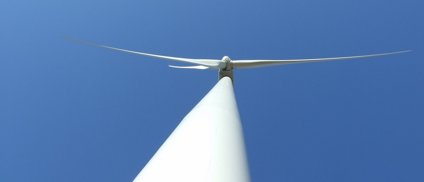 Carleton's second wind turbine