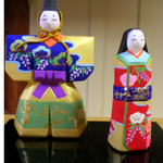 Emperor and Empress dolls.