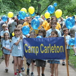 Camp Carleton at the Parade of classes