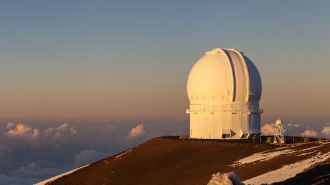 Canada-France-Hawaii Telescope_Mauna Kea_Hawaii.