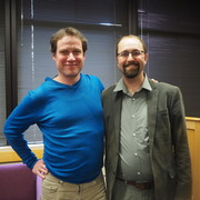 Christopher Vogel and Prof. Josiah Simon