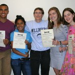 2013 Brian Mars Award Winners with Julie Karg