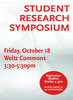 Student Research Symposium 2019