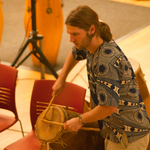 African Drum Ensemble Performance