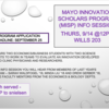 MISP INFO SESSION POSTER