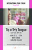 IFF presents Tip of My Tongue on 5/13 at 7pm in Weitz Cinema