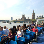 Thames Boat Trip with London Program Students