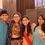 Students at MOSAIC's Diwali event