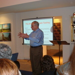 Professor Mohrig gives presentation to San Diego Club