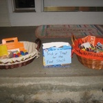Goodies left by residents in Northfield