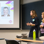 NUMS 2014: Kendra Johnson-Tesch and Brianne Power, St. Olaf College