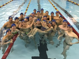 Virginia Military Institute left it all in the pool in the 2018 Hour of Power
