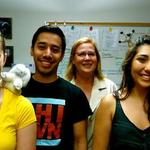 Julie Neiworth's 2012 neuroscience research group