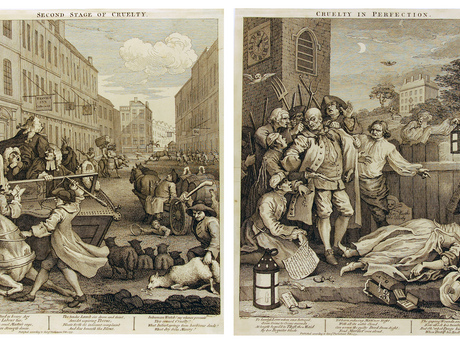 Hogarth: Stages of Cruelty