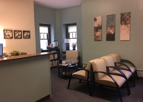 Student Health and Counseling Reception Area