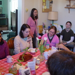 Sunday brunch, winter 2005
