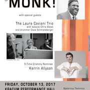 Monk! Laura Caviani Trio and Karrin Allyson