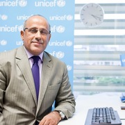 Image of Youssouf Abdel-Jelil, UNICEF representative to Vietnam.
