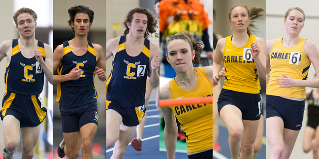 USTFCCCA Indoor Track and Field All-Region performers
